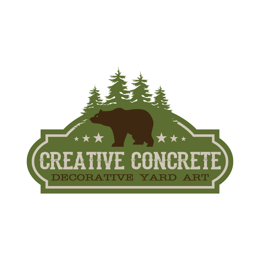 Creative Concrete Logo Design