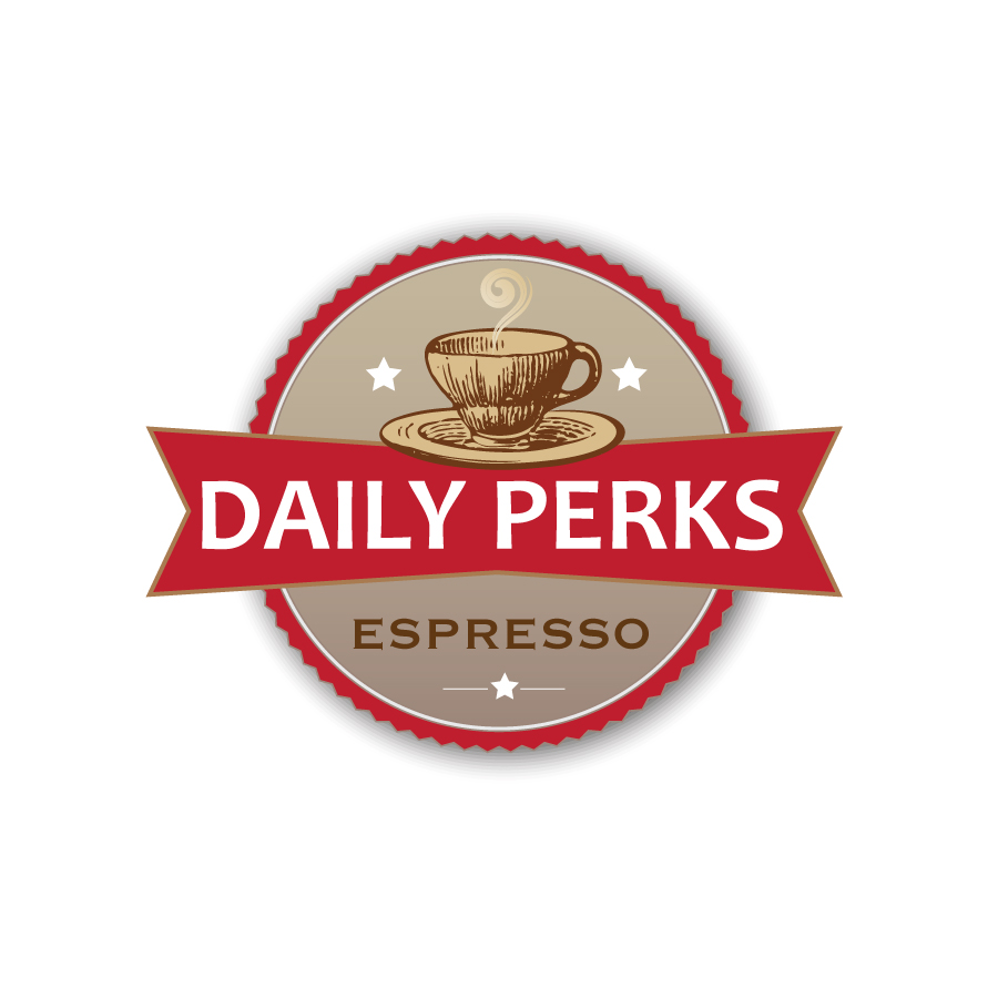Daily Perks Logo Design