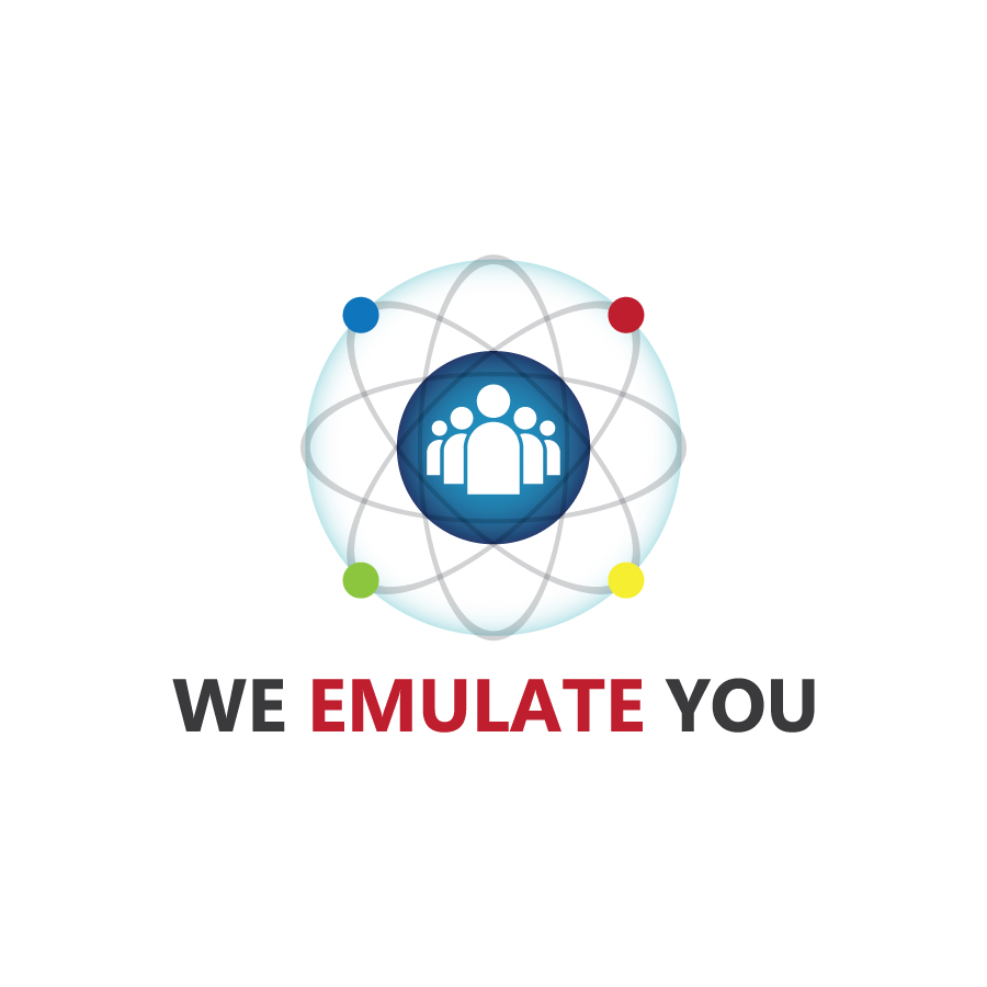 We Emulate You Logo Design