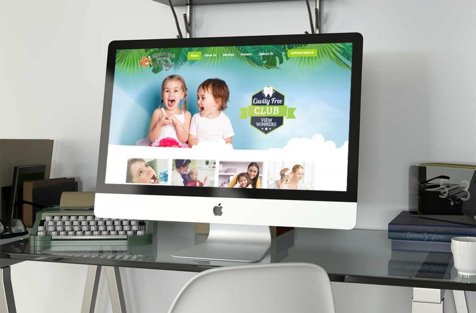 childrens-dental-village web design