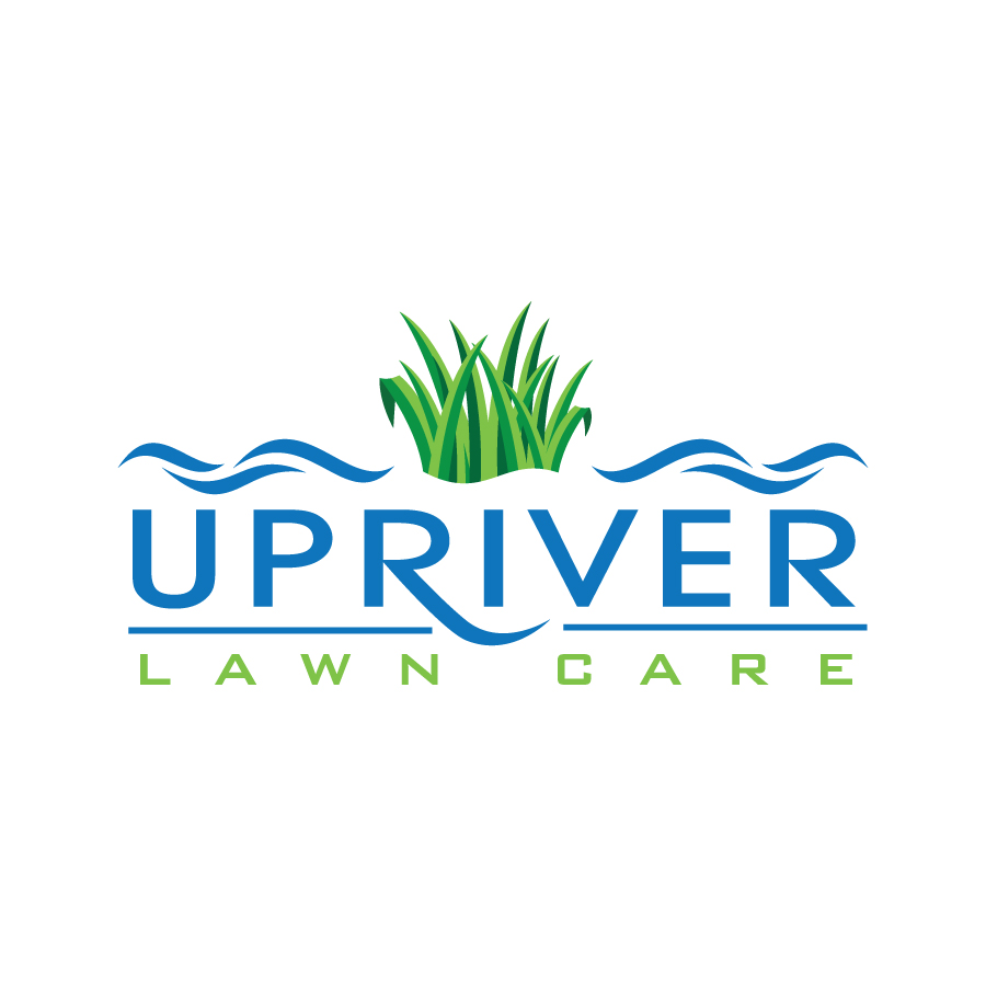 Upriver Lawn Care Logo Design