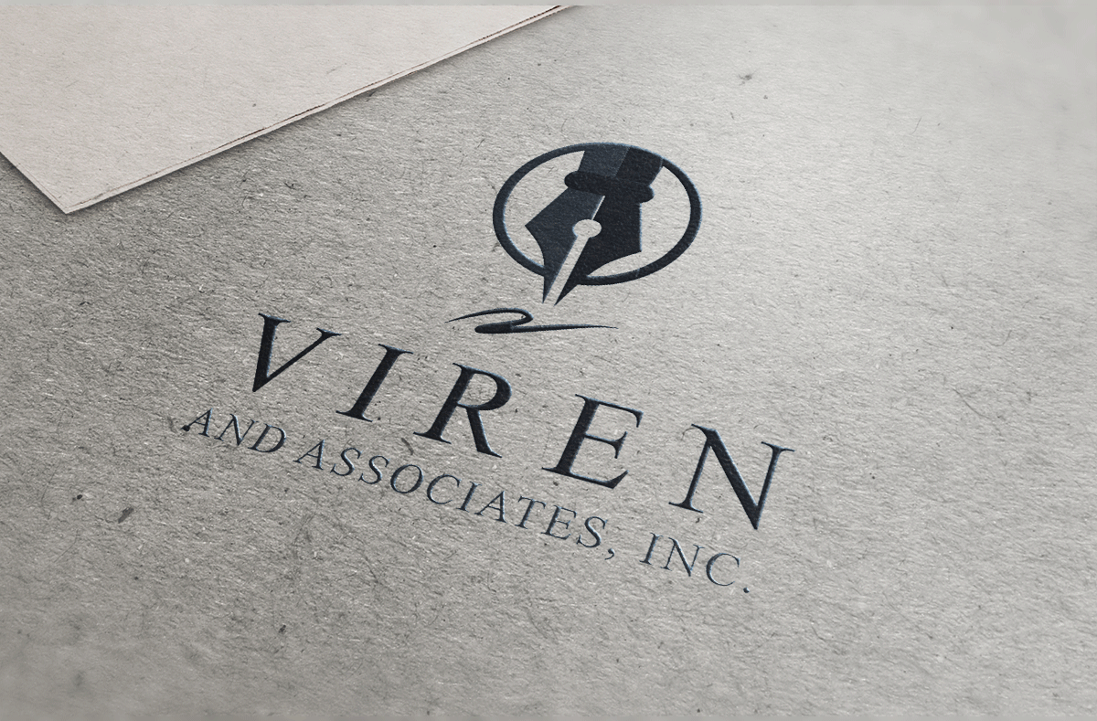 Viren and Associates Logo Design