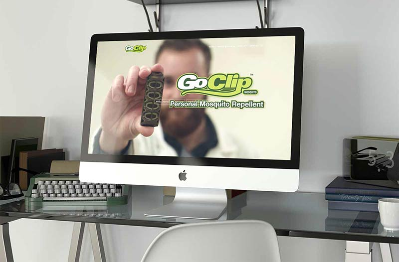 Rescue Go Clip Web Design