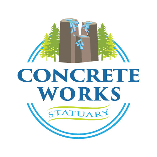 Concrete-Works Statuary Logo Design